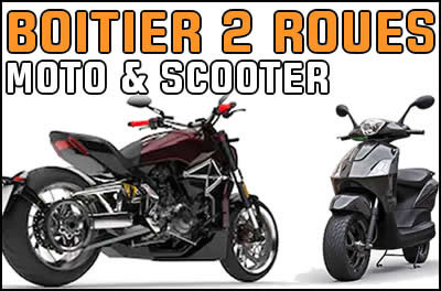 Boitier additionnel Moto & Scooter